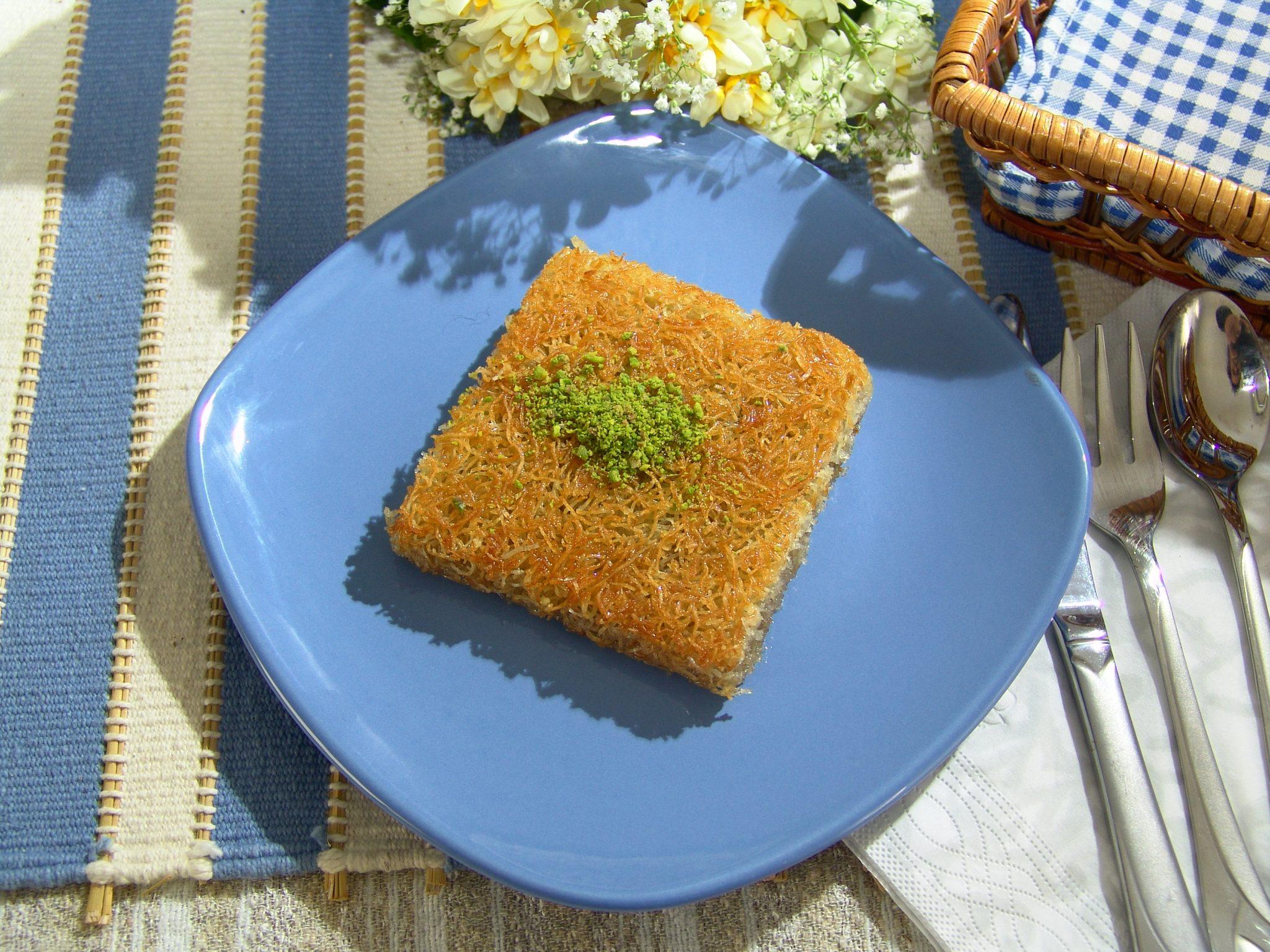 Les pâtes Kadaif